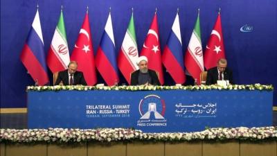 - Ruhani: 'Suriye'ye dış askeri müdahale sorunları arttırır'