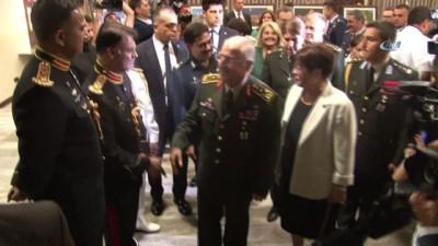 Savunma Bakanı Akar ve Genelkurmay Başkanı Güler, 'Pakistan Savunma Günü' resepsiyonuna katıldı