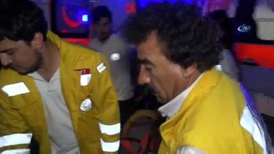 Ankara'dan Aksaray istikametinde seyreden yolcu otobüsü şarampole devrildi çok sayıda ölü ve yaralı var