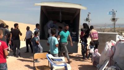 Barınma merkezinde kalan Suriyeliler Adıyaman'dan ayrılıyor
