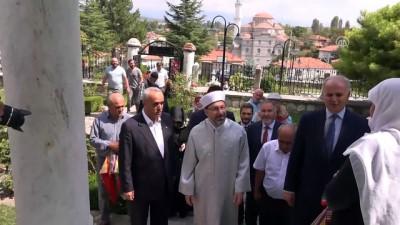 Diyanet İşleri Başkanı Erbaş 'Hayme Ana'nın kabrini ziyaret etti - KÜTAHYA