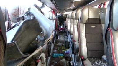 Yolcu otobüsü devrildi: 6 ölü (2) - AKSARAY