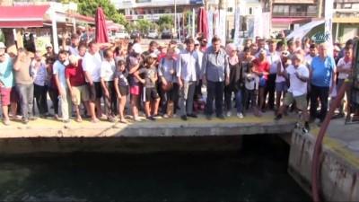 - 35 bin Levrek yavrusu denizle buluştu
