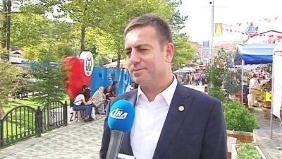 AK Partili Aydın'dan Beypazarı'na övgü