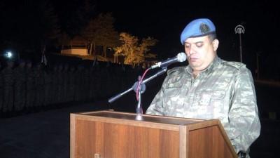 Askeri aracın kaza yapması - Şehit olan Sözleşmeli Er İnaltekin'in cenazesi Adana'ya gönderildi - HAKKARİ