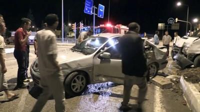 Minibüs ile otomobil çarpıştı: 1'i çocuk, 6 yaralı - ELAZIĞ