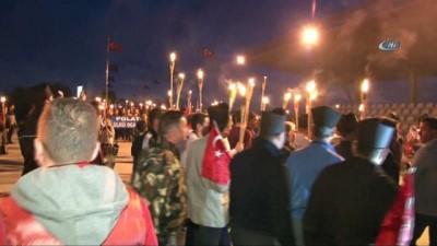 Sakarya Zaferi'nin 97. yıl dönümüne özel şafak yürüyüşü