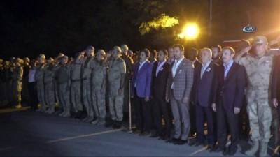 Şehit Er İnaltekin için Hakkari'de tören düzenlendi