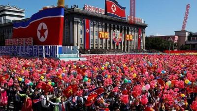 - Kuzey Kore 70'inci yılını kutladı, törende balistik füzeler sergilenmedi
