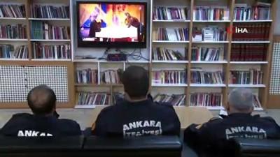 Ankara itfaiyesi yeni yıla görev başında girdi