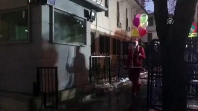 Güven timlerinden yılbaşında 'Noel Baba' kıyafetli kamuflaj - ANKARA