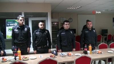 İl Emniyet Müdürü Doğan İnci polislerin yeni yılını kutladı