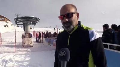 Küpkıran'da kayak sezonu açıldı - AĞRI
