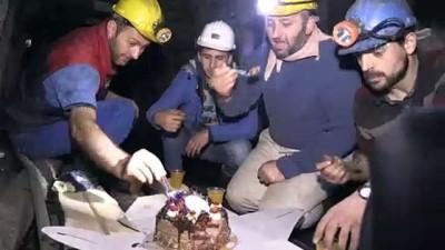 Maden ocağında yeni yılı karşıladılar - ZONGULDAK