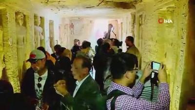 roma donemi -  - Mısır'da Antik Roma Döneminden Kalma Lahitler Bulundu