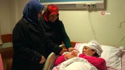 Yeni yılın ilk bebeği Nevşehir'de dünyaya geldi