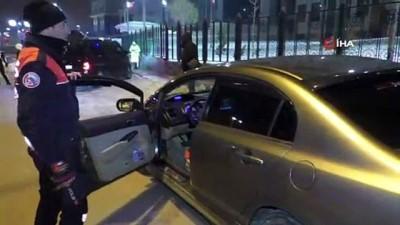 Yılbaşında sürücülere ceza yağdı