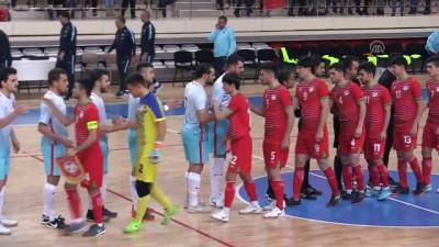 hazirlik maci - A Milli Futsal Takımı, Tacikistan ile karşılaştı - ERZİNCAN