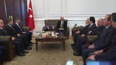 cesar - Bakan Soylu, Türk İdareciler Derneği Genel Başkanı Bedük'ü kabul etti - ANKARA