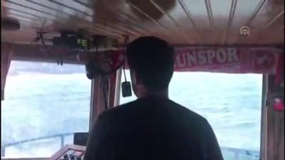Batan balıkçı teknesi - Kayıp balıkçıyı arama çalışmalarına ara verildi - SİNOP