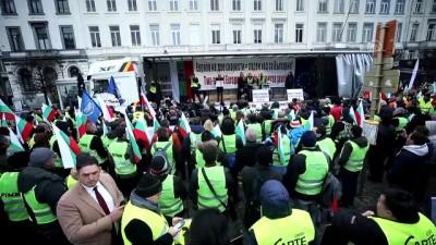 politika - Belçika'da taşımacıların protestosu - BRÜKSEL