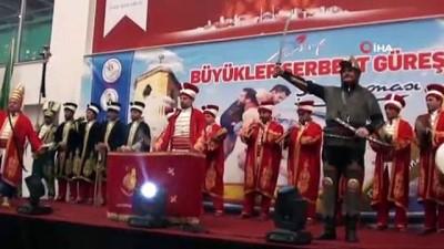 Büyükler Türkiye Serbest Güreş Şampiyonası başladı