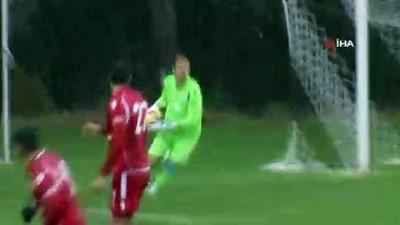 hazirlik maci - Hazırlık maçı: Atiker Konyaspor: 0 - Altınordu: 1