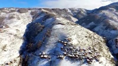 yazili aciklama - Karadeniz'de kış - Yaylalar havadan görüntülendi - ORDU