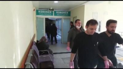 Köpeklerin saldırdığı kadın yaralandı - KIRŞEHİR