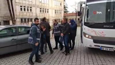 Samsun'da silah ticareti operasyonu: 7 kişi adliye sevk edildi