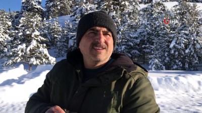 kar manzaralari -  Sarıkamış'ta kartpostallık kar manzaraları