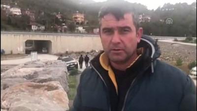 Sinop açıklarında balıkçı teknesi battı (4)
