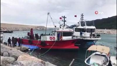 Sinop'ta tekne battı: 1 ölü, 1 kayıp