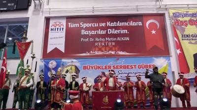 Türkiye Büyükler Serbest Güreş Şampiyonası - ÇORUM