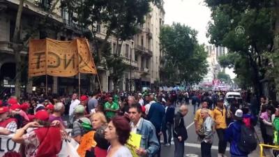 Arjantin'de zam protestoları