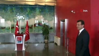 CHP İstanbul Büyükşehir Belediye Başkan adayı İmamoğlu: 'Benim İstanbul ile çok işim var'