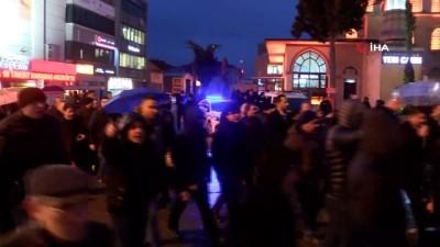 sehit -  CHP'nin 25 milletvekili Sakarya'ya gelerek Tank Palet eylemine destek verdi