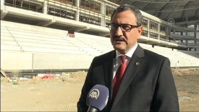 Çotanak Spor Kompleksi son virajda - GİRESUN