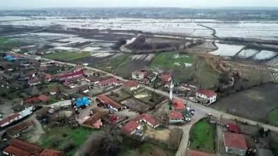 Ergene Nehri'nin debisi yükseldi - KIRKLARELİ