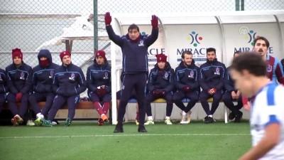Hazırlık maçı - Trabzonspor, Macaristan'ın MTK Budapeşte ekibine 2-0 yenildi - ANTALYA