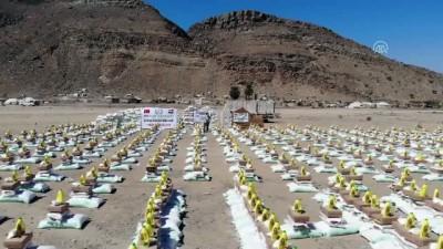 İHH geçen yıl 343 bin 199 Yemenliye yardım ulaştırdı