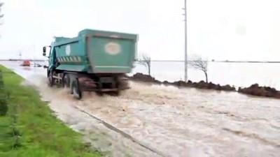 Amik Ovası'nda tarlalar sular altında - HATAY