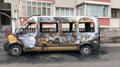 Araç yangını - KARABÜK