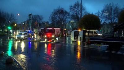 trafik kazasi - Fatih'te trafik kazası - İSTANBUL