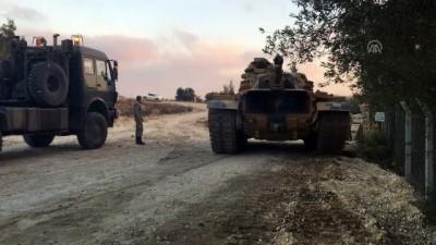 İdlib sınırına komando ve zırhlı araç sevkiyatı (3) - HATAY