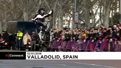 ispanya - İspanya'da 'Penguen' motosikletçiler 36'ncı kez bir araya geldi