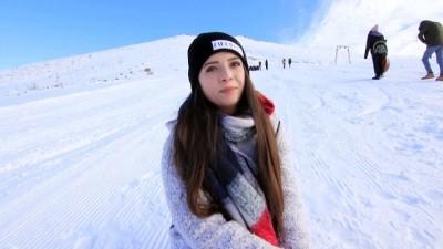 Leğenle kayak keyfi - BİNGÖL