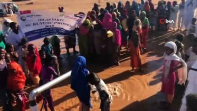istifa -  - Sudan'a Su Kuyusu Ve Okul İle Gelen Mutluluk - İhlas Vakfı'ndan Sudan'a Su Kuyusu