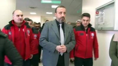 - Suriye'nin Çobanbey kentinde 112 komuta merkezi faaliyete geçti - Terörden arındırılan bölgelerde sağlık atılımı