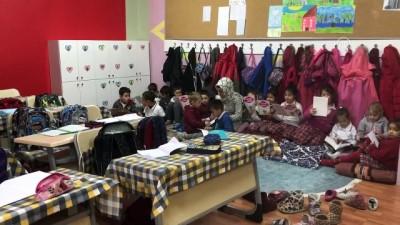 'Veliler sınıfa sahip çıkıyor' projesiyle okulu eve çevirdiler - BİLECİK
